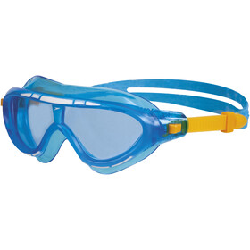 speedo Biofuse Rift Lunettes de protection Enfant, blue/orange